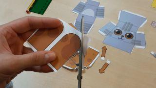 Comment faire des animaux en papier 3D Étape 1