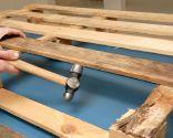 Comment faire une table basse avec une palette