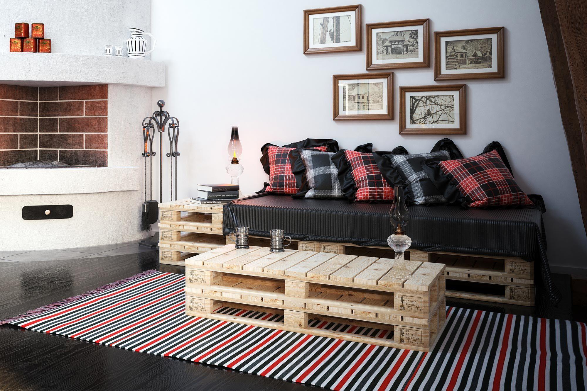 Combinez un canapé noir avec un tartan écossais