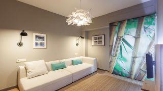 Transformez une chambre à l'ancienne en salon au décor zen