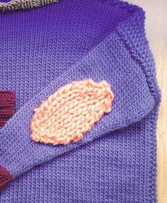 coudières en tricot jersey