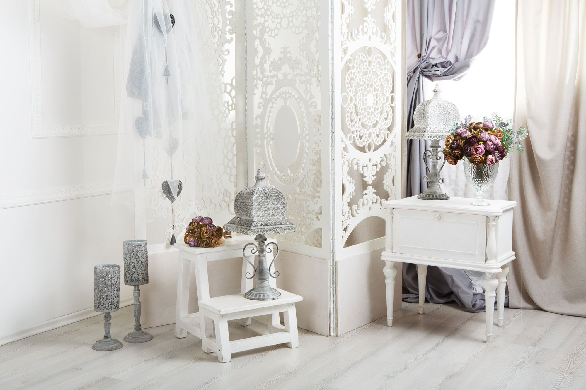 Couleurs shabby chic