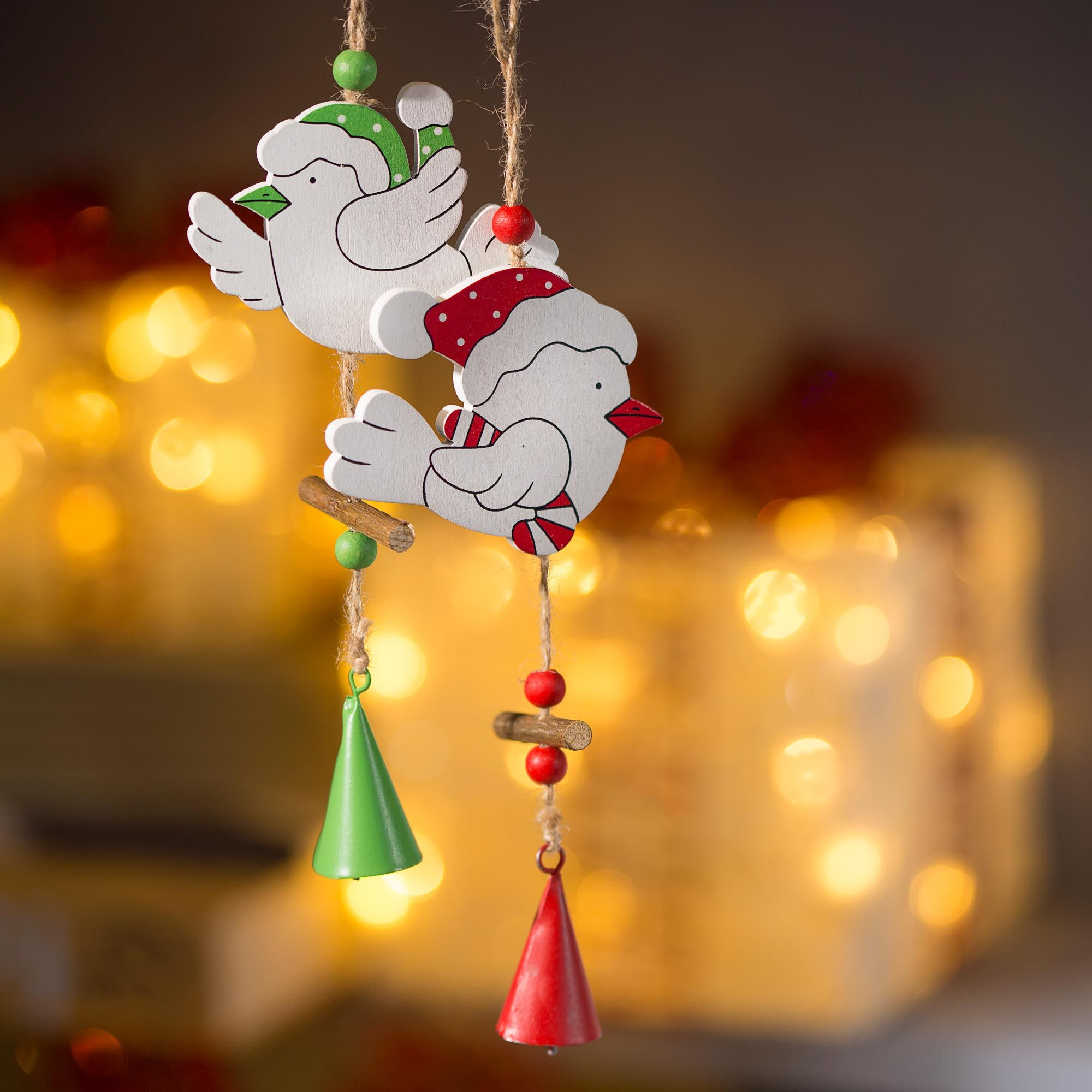 Décoration de Noël amusante et colorée