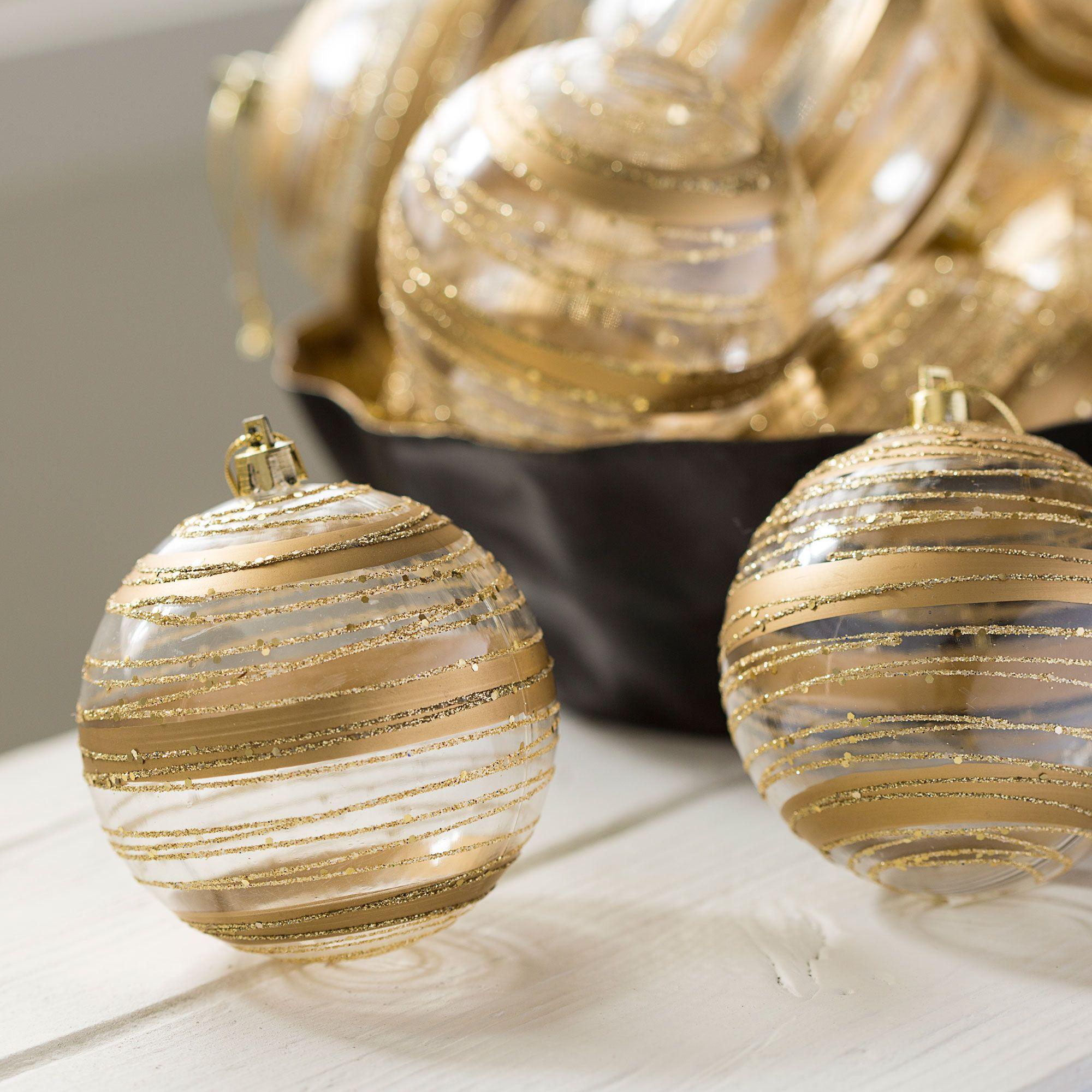 Décoration de Noël argent et or
