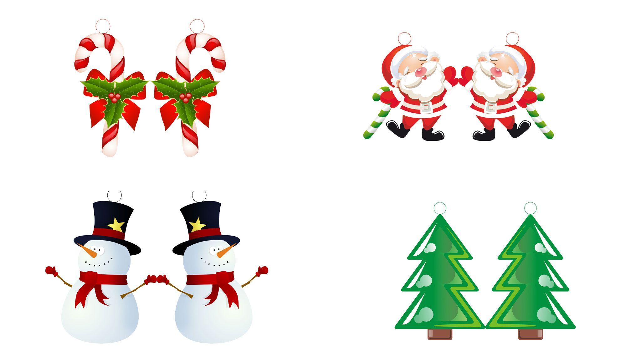 Décorations en papier ou en carton pour le sapin de Noël
