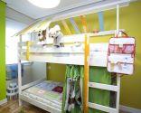 décorer la chambre avec un lit superposé