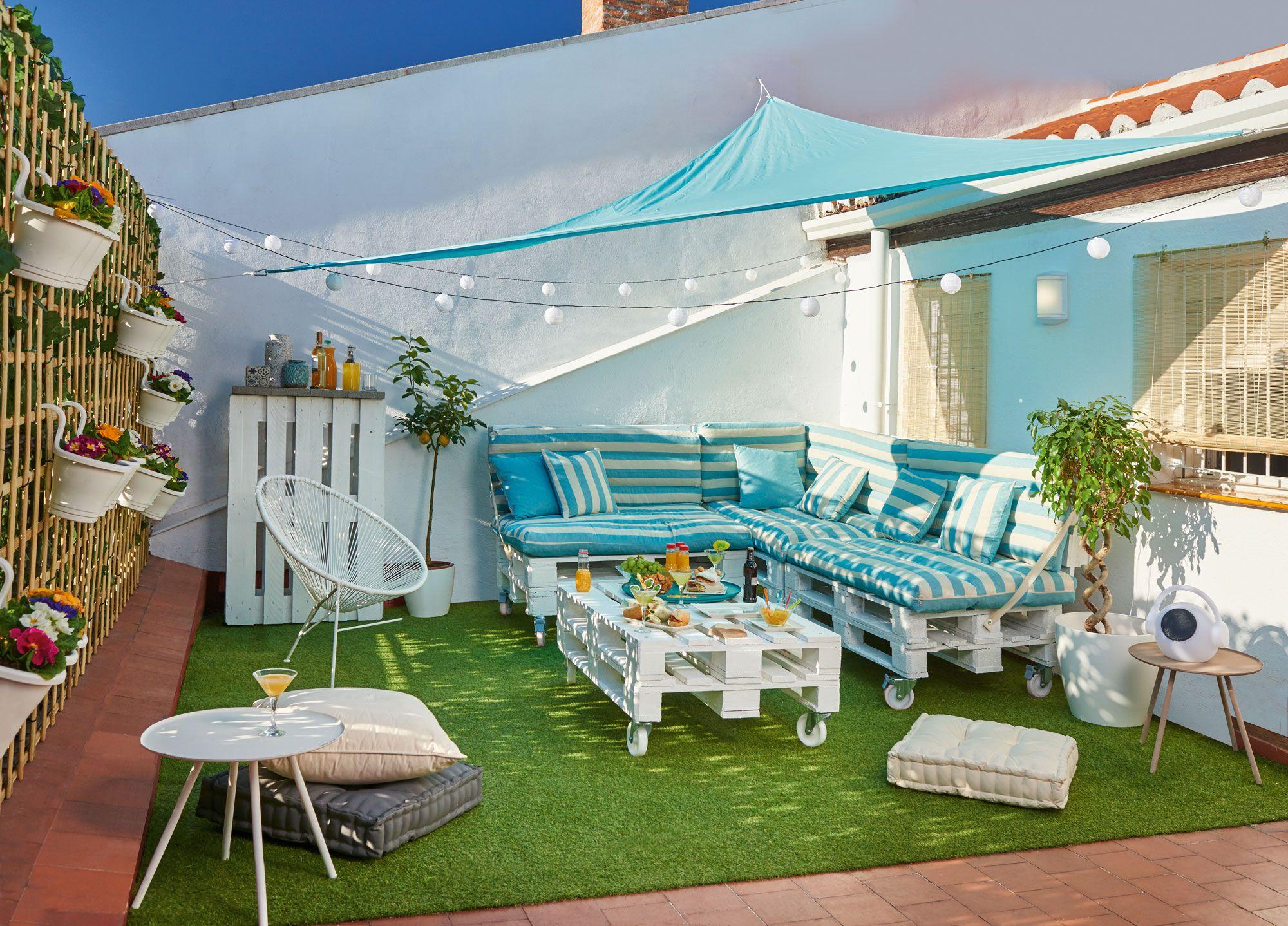 Idées pour décorer les terrasses urbaines chill out