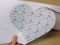 Faire une enveloppe avec un cœur pour la Saint-Valentin