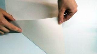 Flocons de neige en papier - Étape 1