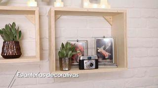 Comment faire des boîtes en bois pour décorer le mur