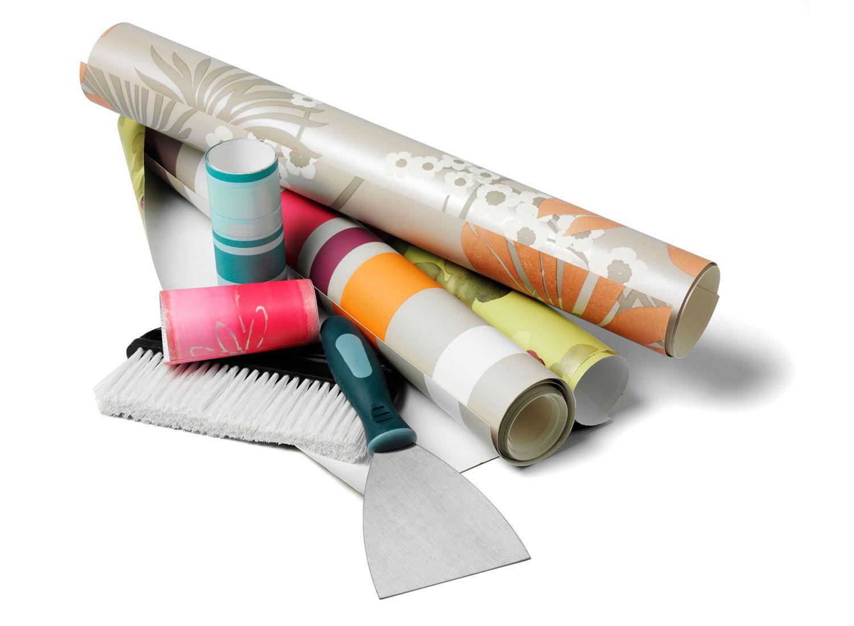 Idées pour décorer avec du papier peint