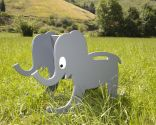 Balançoire en forme d'éléphant