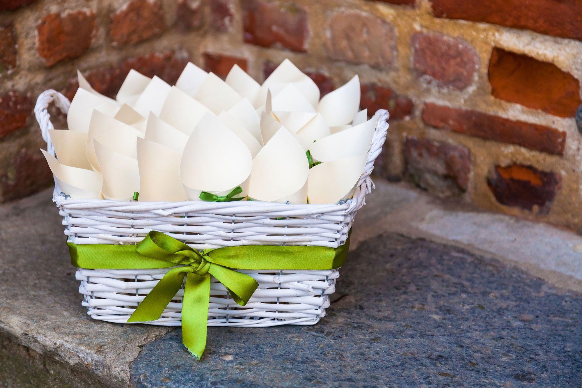 Idées pour présenter du riz lors d'un mariage