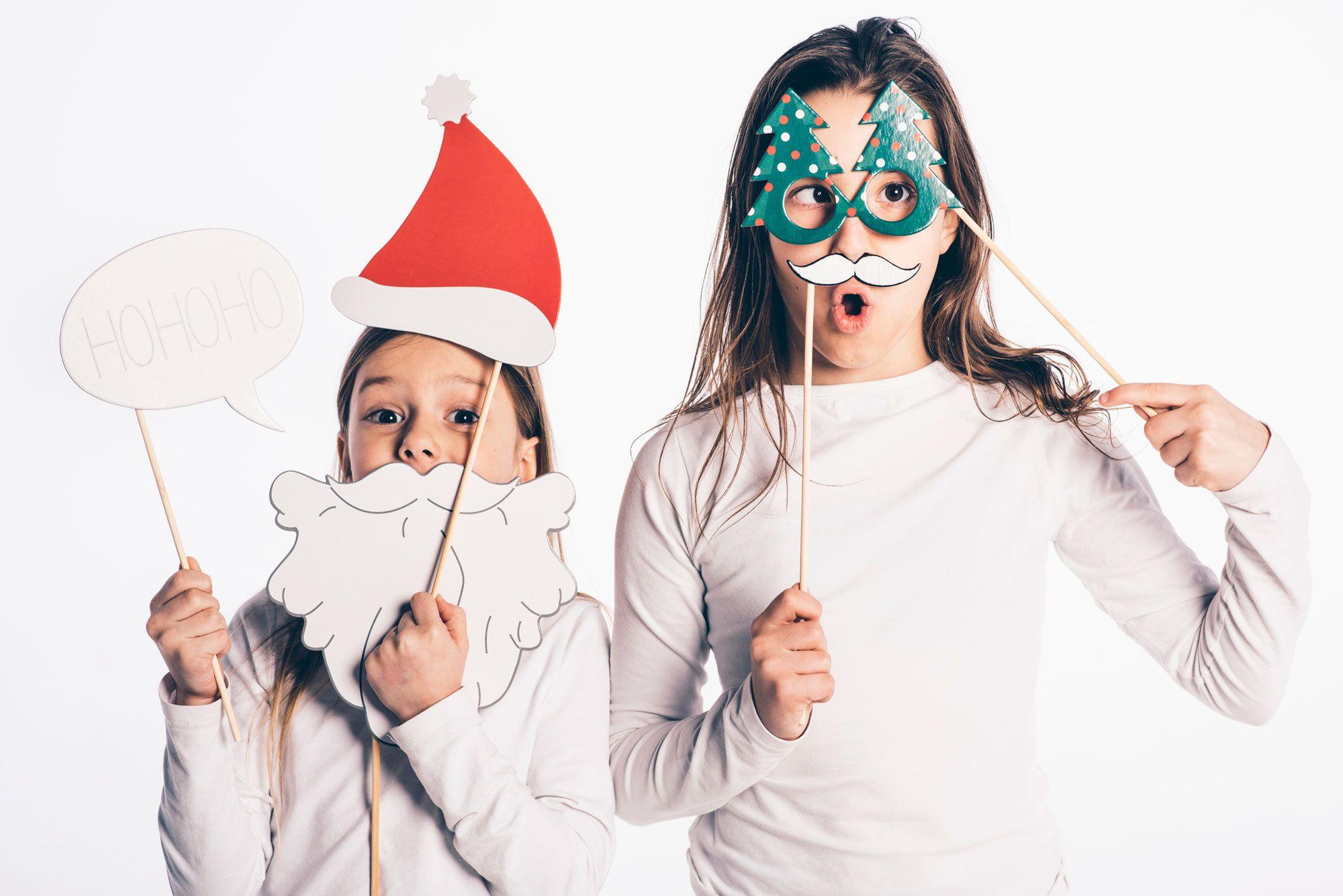 Kit téléchargeable pour réaliser un photocall de Noël