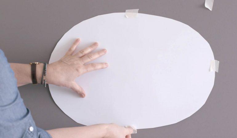 comment-peindre-des-formes-ovales-sur-le-mur