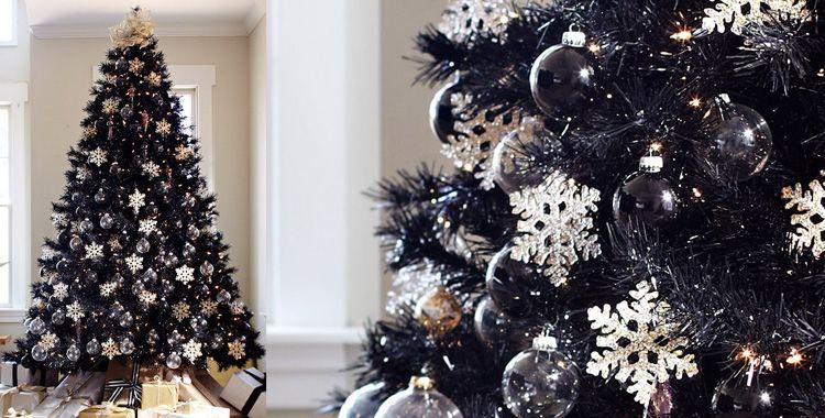 decoration-de-noel-de-couleur-noire