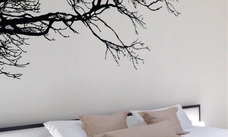 idees-pour-decorer-un-mur-personnalise-peintures-murales-dessins-vinyles