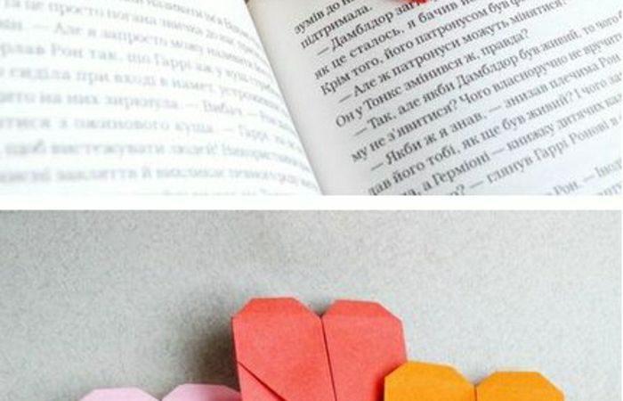 marque-pages-en-forme-de-coeur