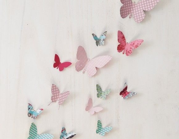papillons-en-papier-pour-decorer-le-mur