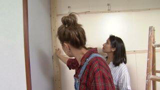 Transformez une pièce en chambre d'enfant simple et cosy avec la frise bleue étape 4