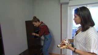 Transformez une pièce en chambre d'enfant simple et cosy avec une frise bleue étape 1