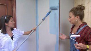 Transformez une pièce en chambre d'enfant simple et cosy avec la frise bleue étape 5