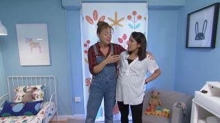 Transformez une pièce en chambre d'enfant simple et cosy avec la frise bleue étape 8