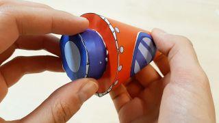 Comment fabriquer une fusée en papier Étape 6