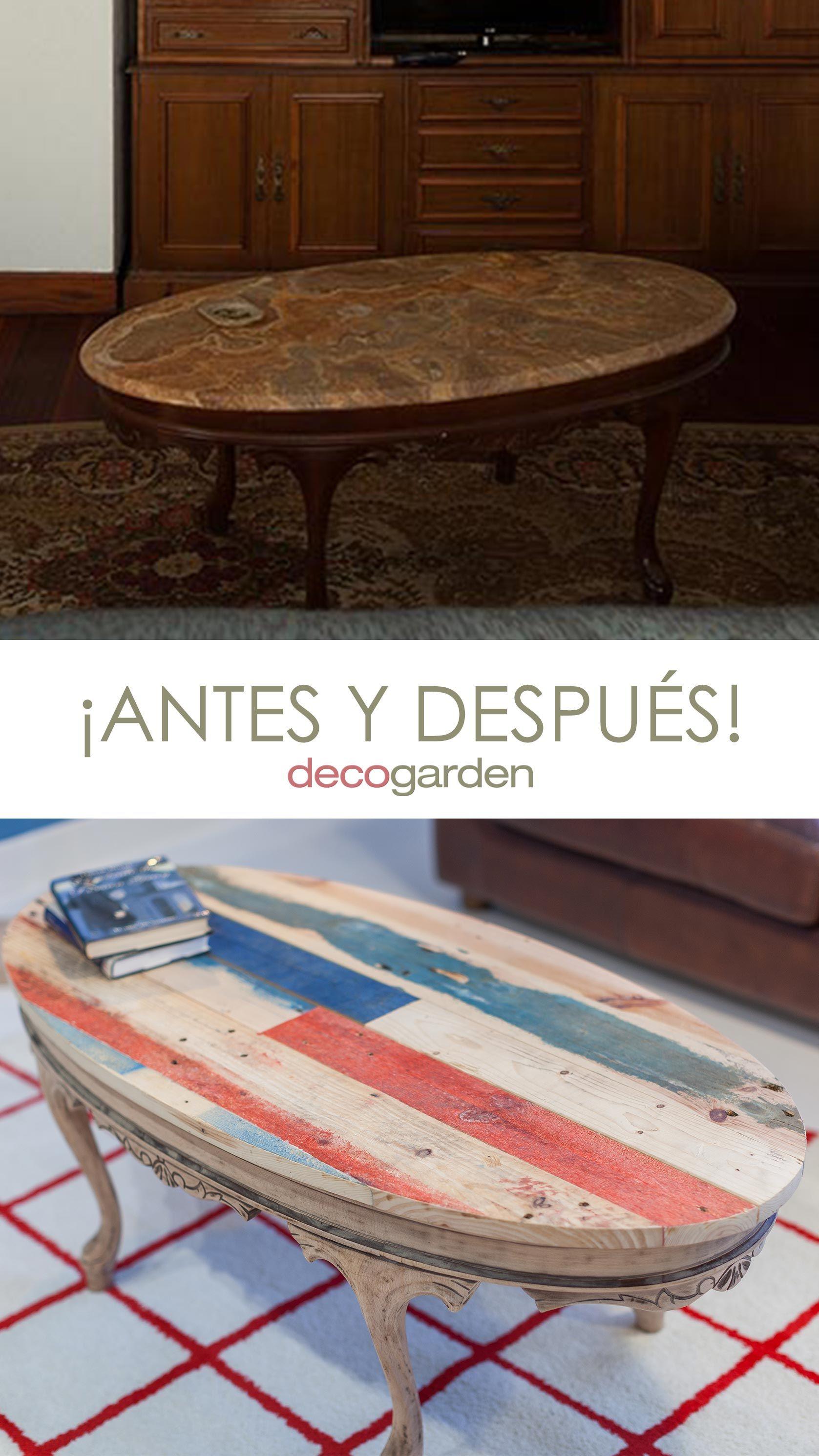 Comment faire un comptoir de palette peint pour une table de salon antique