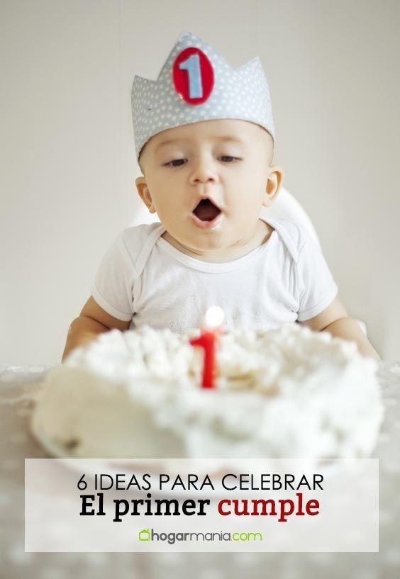 6 idées originales pour fêter le premier anniversaire de votre bébé