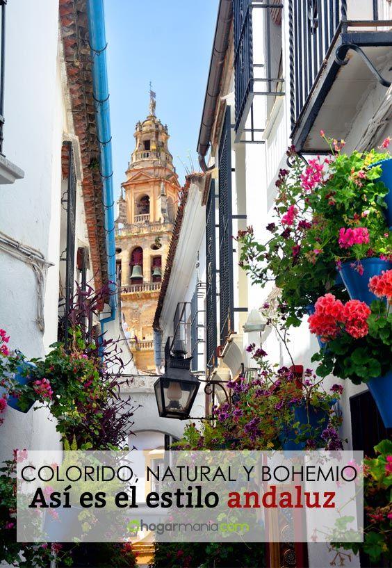 Style andalou: la décoration la plus colorée, naturelle et bohème