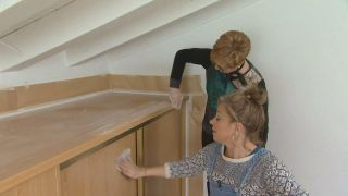 Comment décorer une chambre d'enfant mansardée lumineuse et personnalisée - Étape 2