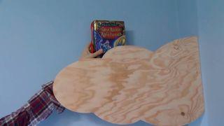 Créer des étagères en bois en forme de nuage - étape 7