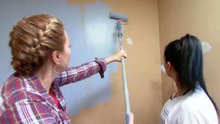 décorer une chambre d'enfants avec un bureau et une frise en bois - étape 2