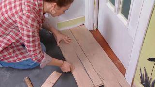 Décorez le salon avec cuisine ouverte en bois - étape 4