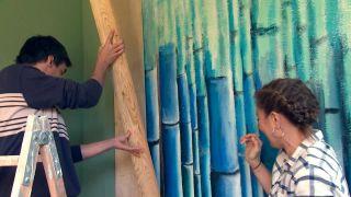 décorez un porche de jeunesse en vert - étape 3