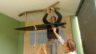 décorer le porche de surf vert - étape 7