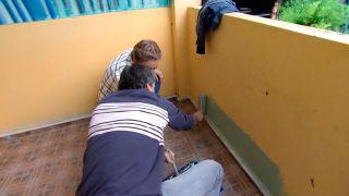 décorez un porche de jeunesse en vert - étape 1