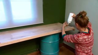 Décorez le studio multifonctionnel couleur vert - étape 7