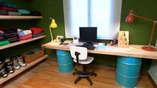 Décorez le studio multifonctionnel couleur vert - étape 9
