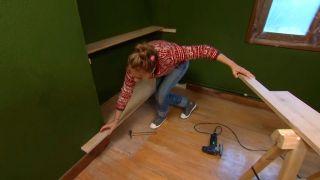 Décorez le studio multifonctionnel couleur vert - étape 4