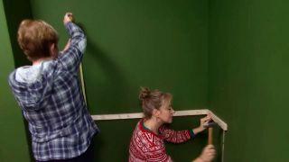 Décorez le studio multifonctionnel couleur vert - étape 3