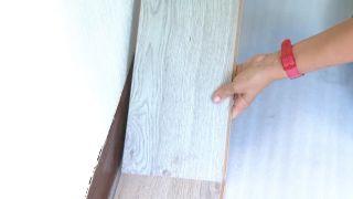 Décorez la chambre des jeunes bleue avec une frise éclairée - étape 5