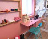 transformer la cabine en chambre et atelier de couture - étape 5