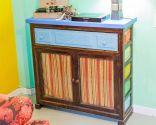 Décorez une chambre de style colonial coloré - étape 4