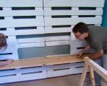 meubles de palette de chambre de jeunesse - étape 4