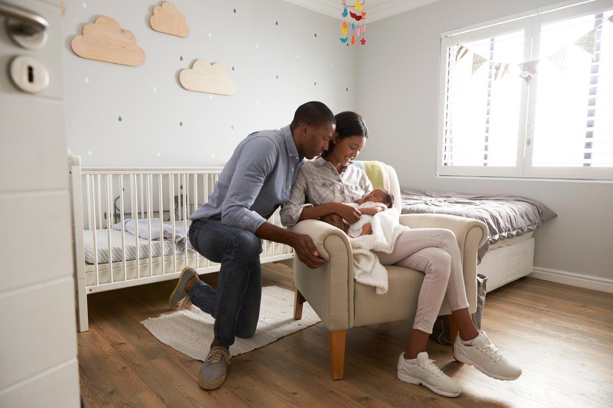 Idée pour décorer une chambre de bébé.
