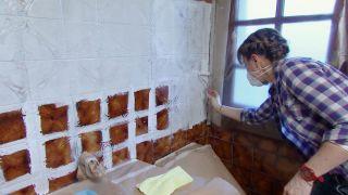 Salle de bain lumineuse aux touches marines - Étape 2