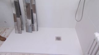 Salle de bain lumineuse aux touches marines - Étape 4