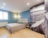 Chambre de style marin moderne